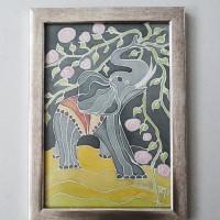 Elephant, 24 / 32 cm,Circulation: Unique 1 of 2;