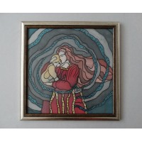 Mother, 30 / 30 cm, Circulation: Unique 3 of 3;