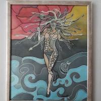 Medusa Gorgon, 46/ 56 cm, Circulation: Unique;